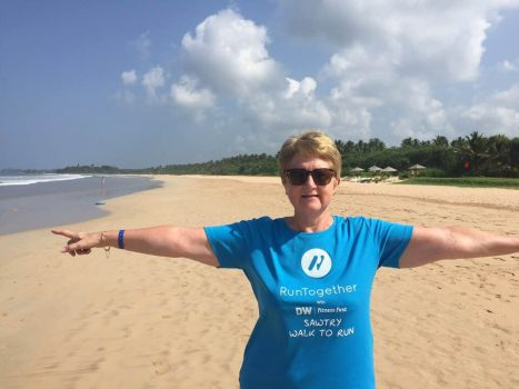 Carol B in Sri Lanka