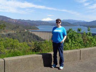 Kat at Shasta Lake Dan, California