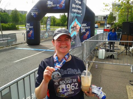 Kat's report from the Milton Keynes marathon weekend
