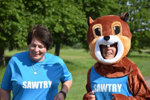 First time parkrun for the Squirrel