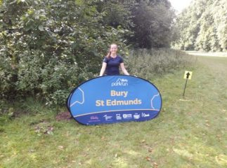 Meg at Bury St Edmunds parkrun