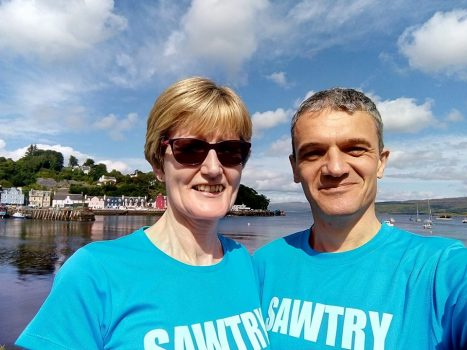 Richard & Anna Marie in Tobermory