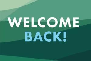 Bienvenido de vuelta