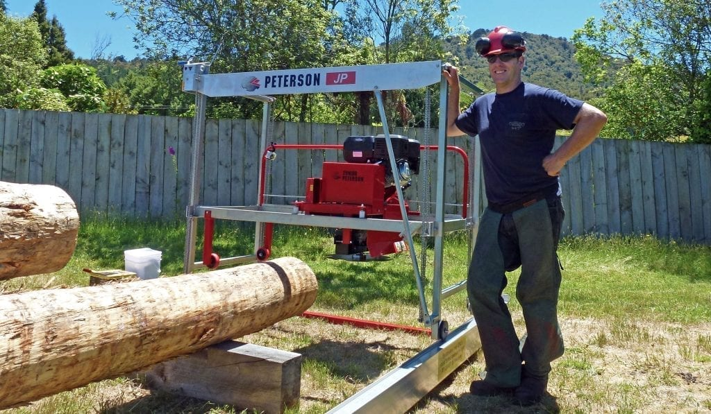 Portable Sawmill For Sale >> Junior Peterson Sawmill Sawyer S Choice Official Distributor Of