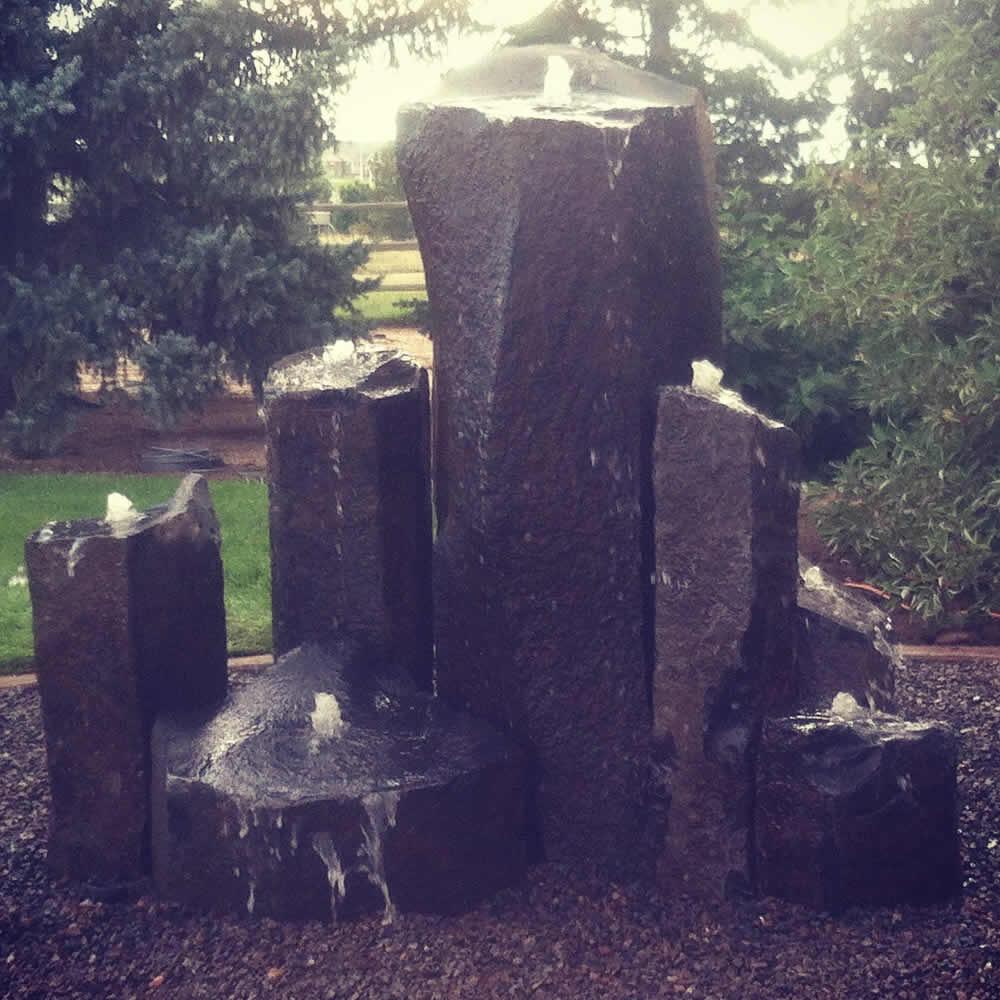 Basalt Columns Pondless Waterfall