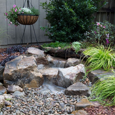 Backyard Waterfall Landscape Fountain Kit-waterfall image2