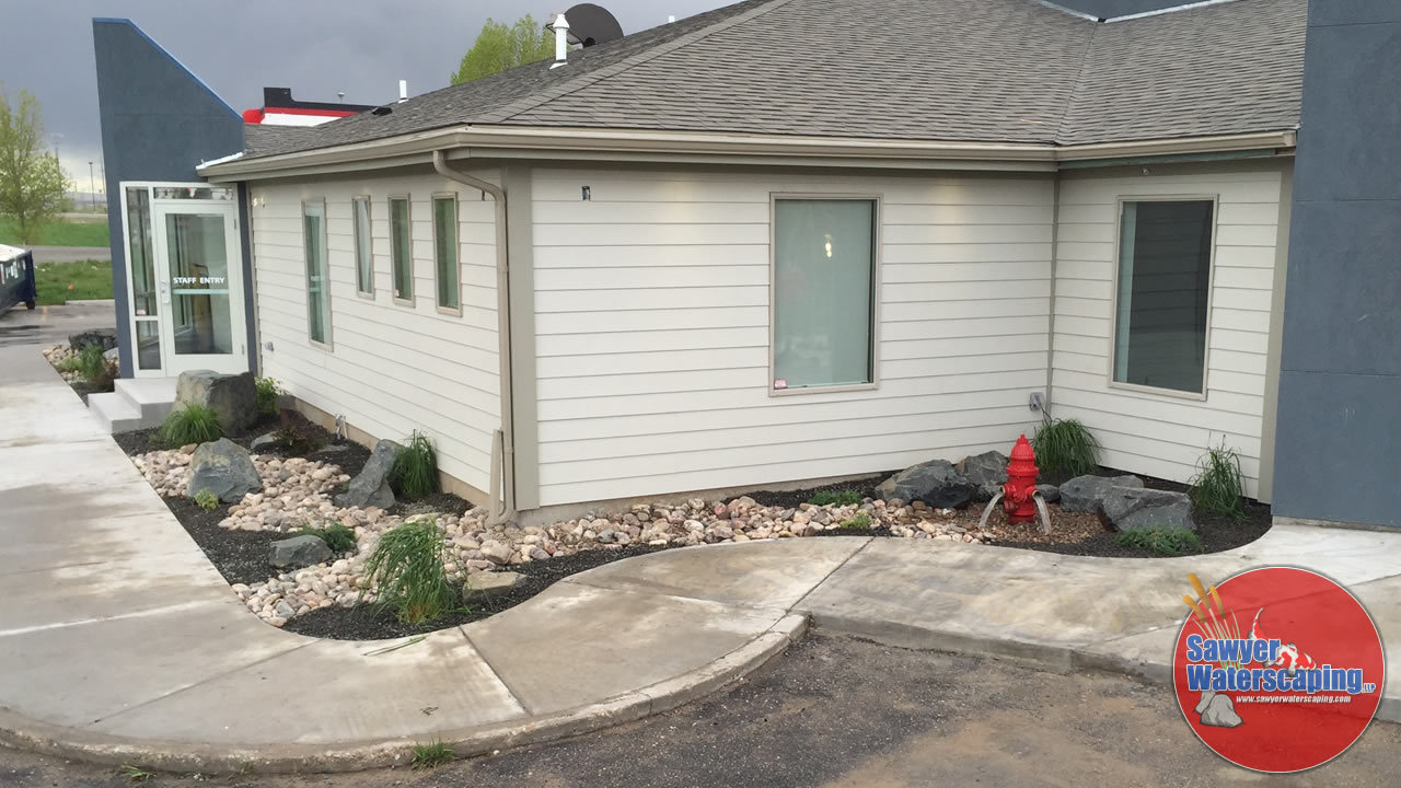 Cheyenne Pet Clinic Landscaping