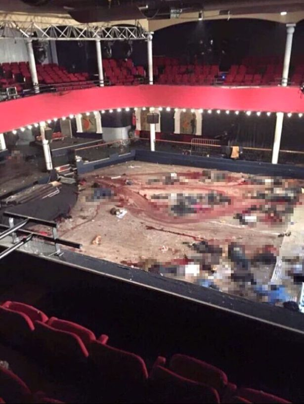 At least 89 people died when four gunmen stormed the venue