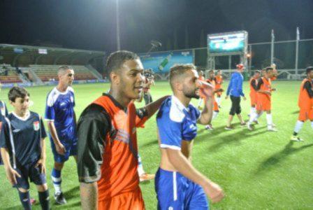 Chagos Islands (in orange) Football