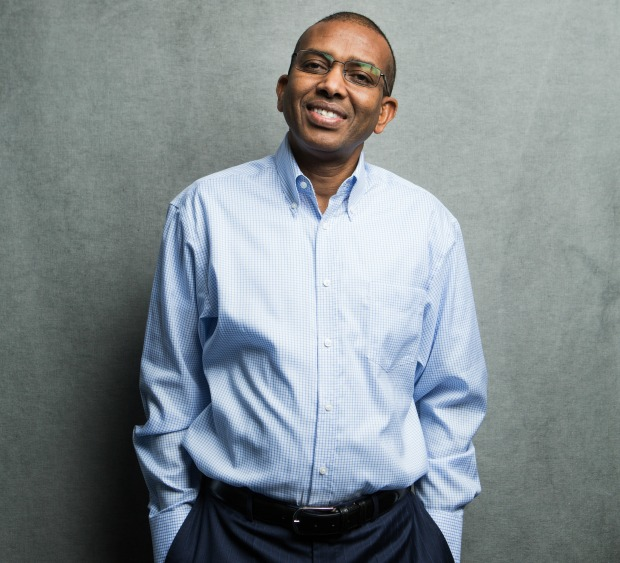 Somaliland-born Ismail Ahmed, CEO of WorldRemit