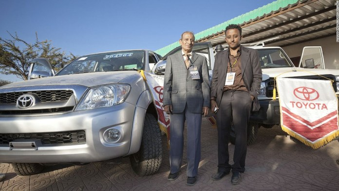 Photos: New member in family of nations? Toyota importers for Somaliland at the Hargeisa International Trade Fair