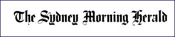 Sydney Morning Herald white logo