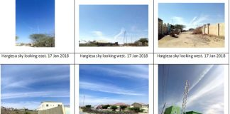 On 17th January 2018: What's Being Sprayed In Our Skies In Somaliland?