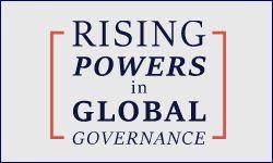 Rising Powers in Global Governance logos