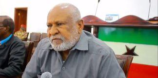 """""""Waajibku Wuxuu Noqonayaa In Madaxweynaha La Yidhaahdo Ha Lana Kala Diro (Guurtida)"""" Guddoomiyaha Golaha Guurtida Somaliland"""