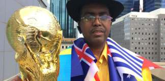 Soccer Superfan Aims To Start Tournament For World Peace
