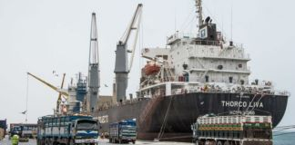 Berbera port of Somaliland