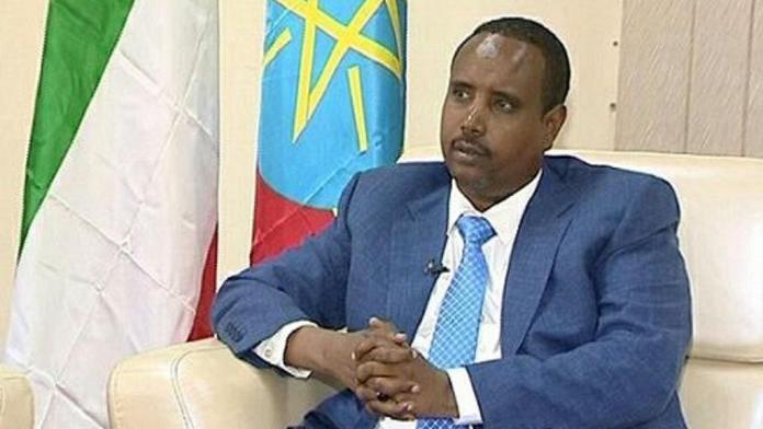 flown to Addis