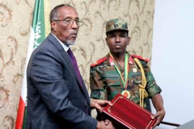 Shahaado-Sharafeedyo La Guddoonsiiyey Saraakiil Ciidamada Qaranka Somaliland Ka Tirsan