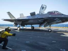Marine Corps F-35Bs Have Arrived Off The Coast of The Horn of Africa For The Very First Time