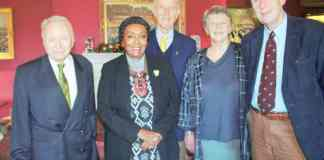 Friendship Link Chair Hosts Lunch For Two Distinguished Ladies From Somaliland