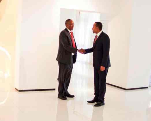 Addis Ababa: Somaliland President, Ethiopia PM Hold Trade Talks