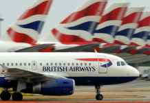 British Airways Flight Lands In Edinburgh Instead Of Dusseldorf By Mistake