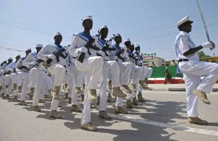 Somaliland navy forces