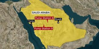 Saudi Arabia Oil Pumping Stations Attacked By Drones