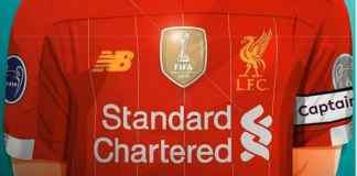 Liverpool Oo Hal Kulan Oo Horyaalka Ingiriiska Ah Calaamadda Dahabiga ah Ee Koobka Naadiyadda Adduunka Ku Dhejisanaysa Funaanaddeeda