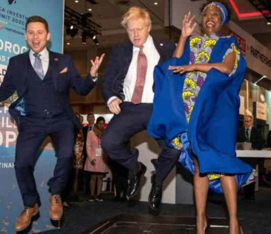 UK PM Calls For A Stronger Partnership With Africa