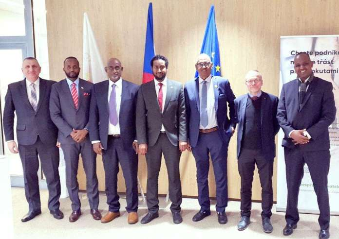 Somaliland Delegation In Prague To Woo Czech Investors