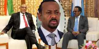 Leaders Of Somaliland And Somalia Hold An Ice-Breaking Meeting Brokered By Ethiopian PM