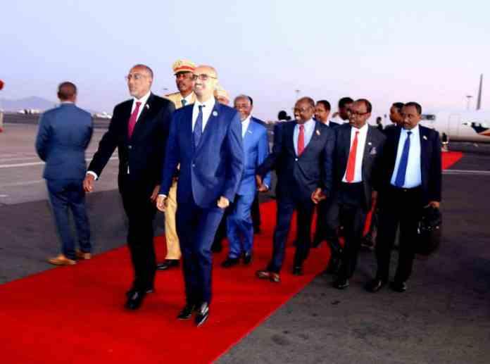 Somaliland President In Ethiopia To Meet AU Leaders - #AUSummit2020
