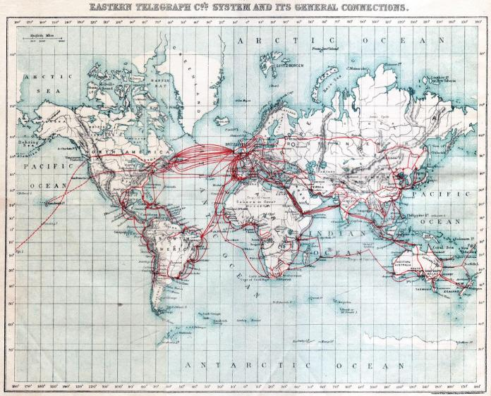 The 1870 Cable From England To India
