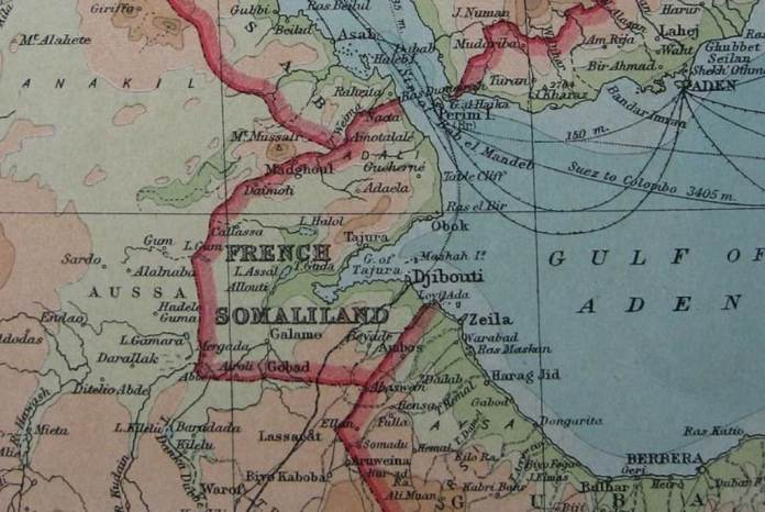 French Somaliland And Gulf Of Aden Area