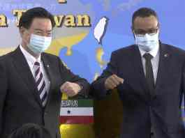 Somaliland Opens New Embassy In Diplomatically Isolated Taiwan