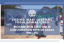 Watch – Ending War Lessons From Somaliland - Richard Iron CMG OBE In Conversation With Dr. Sarah Phillips