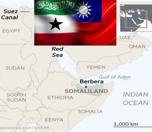 Taiwan-Somaliland Relationship And The Geopolitical Competition In The Red Sea