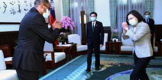 President Tsai Receives Somaliland Ambassador To Taiwan