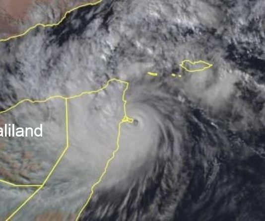 Tropical Storm Makes Landfall In Somaliland