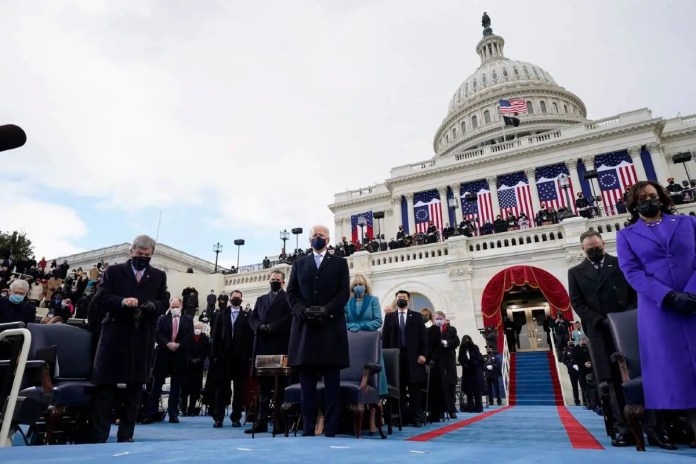 US Inauguration: Biden Sworn As 46th President Of The United States