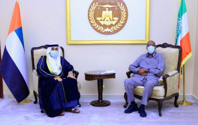 UAE First Ambassador To Somaliland Presents Credentials To President Bihi