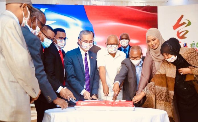 Taiwan's 110th National Day Celebration Held In Somaliland