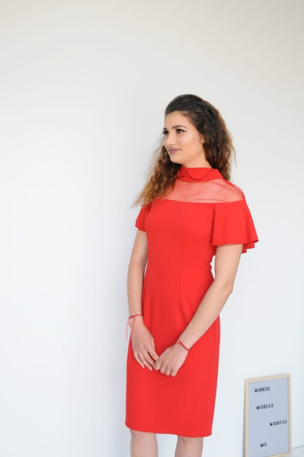 Rochie Clara rosie