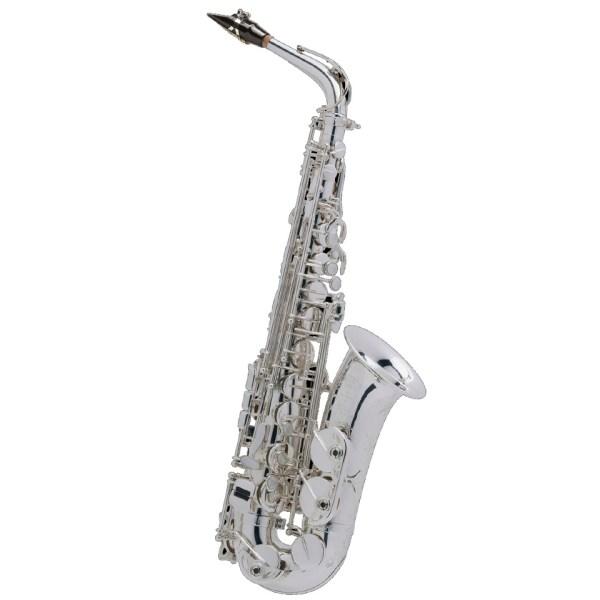 saxophone alto Selmer-super-action 80 Série II argenté Jubilée
