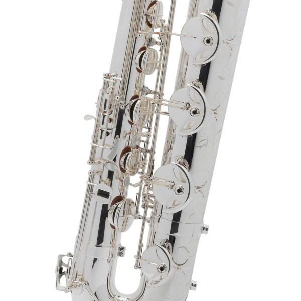 Saxophone Baryton Selmer Série III AG argenté