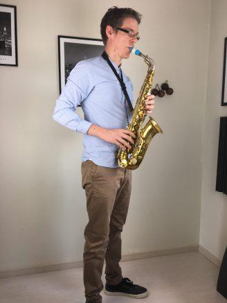 posture au saxophone