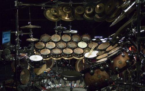Les tambours mélodiques de Terry Bozio