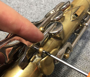 entretien du saxophone